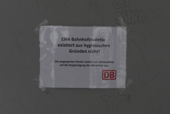 Schild Bahnof Telgte Foto A. Illhardt)