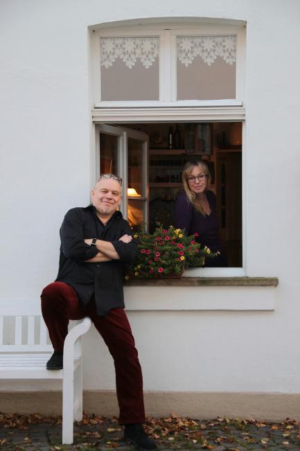 Marion und Arnold Illhardt, Herrenstraße (Quelle A. Illhardt)